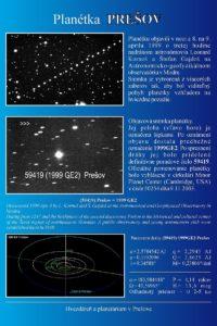 Pohyb novoobjavenej planétky