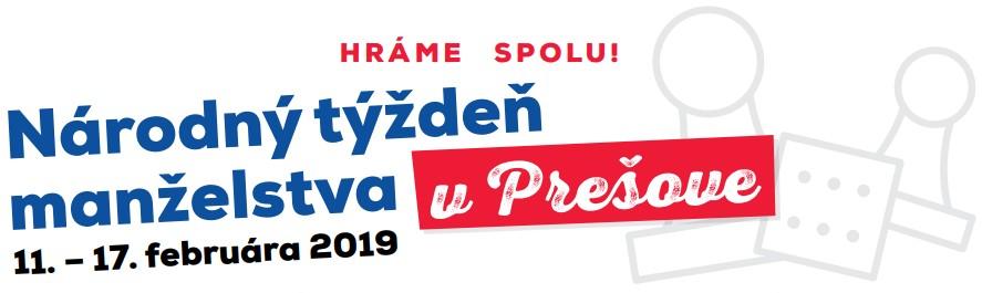 11.-17.februára 2019 Národný týždeň manželstva v Prešove