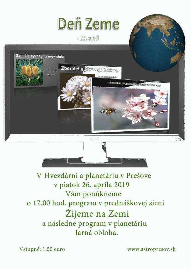 Deň Zeme – 22. apríl